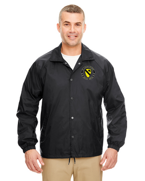 1st Cavalry Division Embroidered Windbreaker -Proud