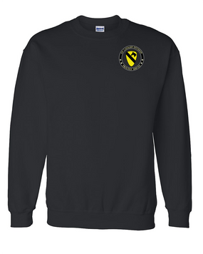 1st Cavalry Division Embroidered Sweatshirt  -Proud