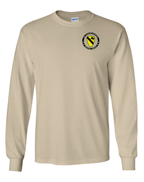 1st Cavalry Division Long-Sleeve Cotton T-Shirt -Proud