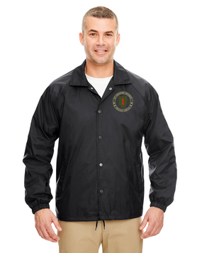 1st Infantry Division Embroidered Windbreaker -Proud