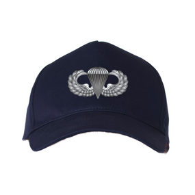US Army Basic Parachutist Embroidered Baseball Cap