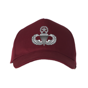 US Army Master Parachutist Embroidered Baseball Cap