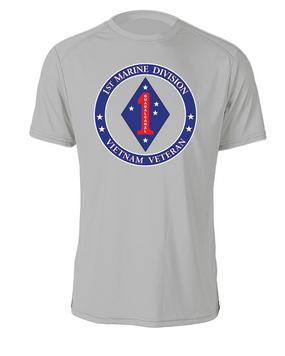 1st Marine Division-Vietnam- Cotton Shirt -Proud-FF