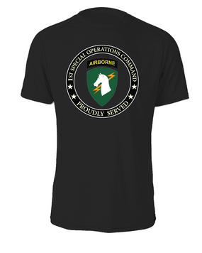 1st Special Operations Command (SOCOM)- Cotton Shirt -Proud (FF)