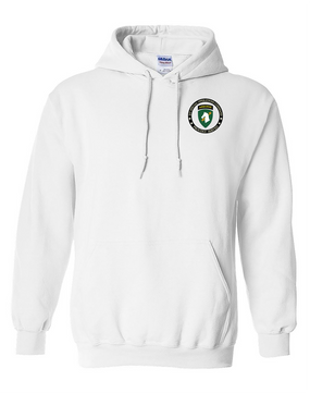 1st Special Operations Command Embroidered Hooded Sweatshirt -Proud