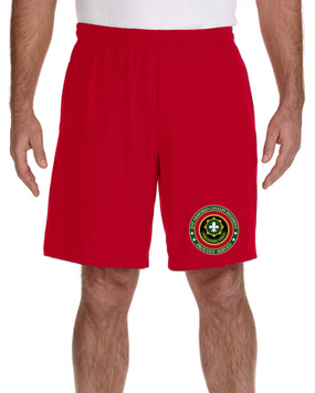 2nd Armored Cavalry Regiment Embroidered Gym Shorts-Proud