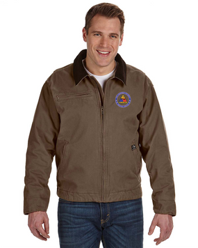 2nd Armored Division Embroidered DRI-DUCK Outlaw Jacket-Proud