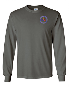 2nd Armored Division Long-Sleeve Cotton Shirt-Proud