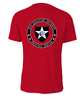 2nd Infantry Division Cotton T-Shirt -Proud (FF)