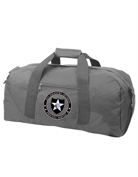 2nd Infantry Division Embroidered Duffel Bag -Proud