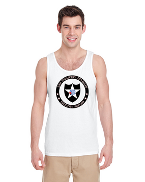 2nd Infantry Division Tank Top-Proud (FF)
