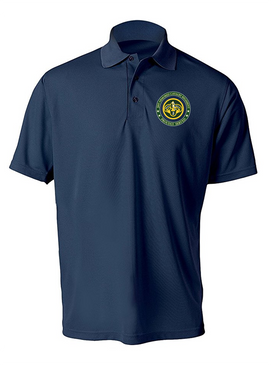3rd Armored Cavalry Regiment Embroidered Moisture Wick Polo -Proud