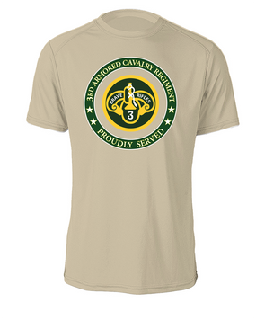 3rd Armored Cavalry Regiment Cotton T-Shirt -Proud (FF)