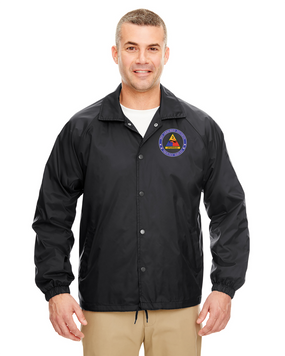 3rd Armored Division Embroidered Windbreaker -Proud