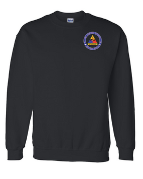 3rd Armored Division Embroidered Sweatshirt-Proud