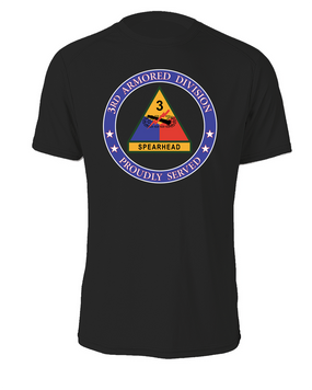 3rd Armored Division Cotton T-Shirt -Proud  (FF)