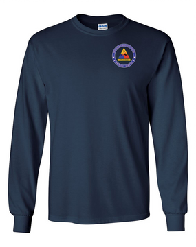 3rd Armored Division Long-Sleeve Cotton Shirt-Proud