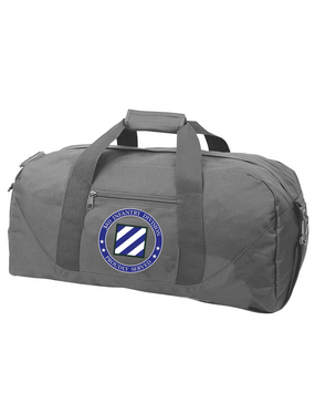 3rd Infantry Division Embroidered Duffel Bag -Proud