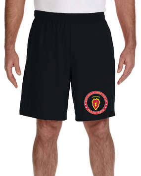 4th Brigade Combat Team (Airborne) Embroidered Gym Shorts-Proud