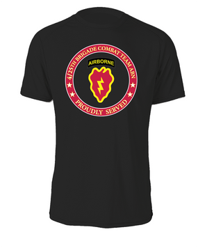 4th Brigade Combat Team (Airborne) Cotton Shirt -Proud  FF