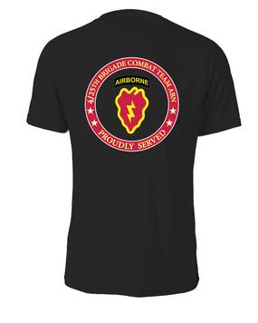4th Brigade Combat Team (Airborne) Cotton Shirt -Proud  FF