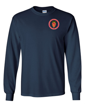 4th Brigade Combat Team (Airborne) Long-Sleeve Cotton T-Shirt -Proud