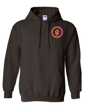 4th Brigade Combat Team (Airborne) Embroidered Hooded Sweatshirt-Proud