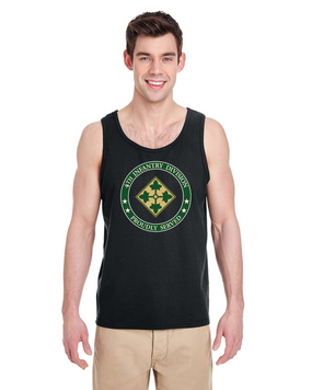 4th Infantry Division Tank Top-Proud-FF