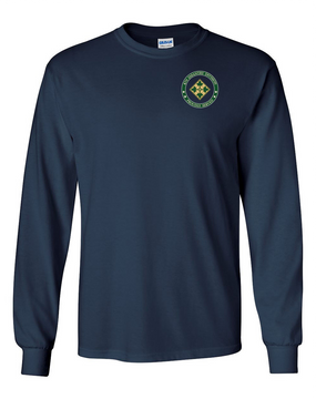 4th Infantry Division Long-Sleeve Cotton Shirt -Proud