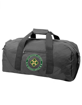 4th Infantry Division Embroidered Duffel Bag -Proud