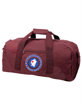 5th Battalion 87th Infantry Embroidered Duffel Bag-Proud