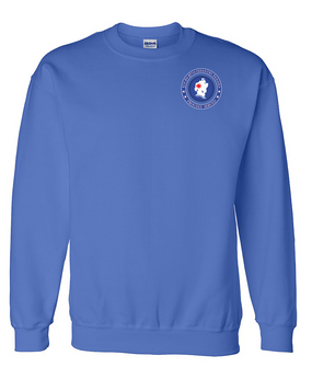 5th Battalion 87th Infantry Embroidered Sweatshirt-Proud
