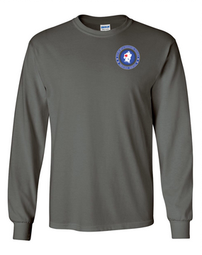 5th Battalion 87th Infantry Long-Sleeve Cotton T-Shirt-Proud