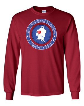 5th Battalion 87th Infantry Long-Sleeve Cotton T-Shirt-Proud  FF