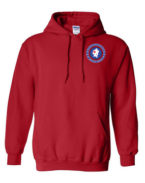 5th Battalion 87th Infantry Embroidered Hooded Sweatshirt-Proud