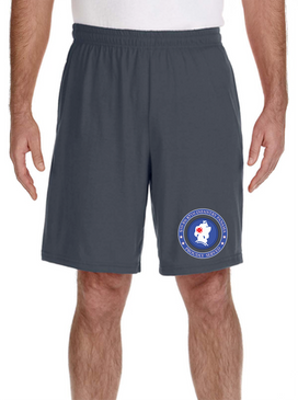 5th Battalion 87th  Infantry Division Embroidered Gym Shorts-Proud