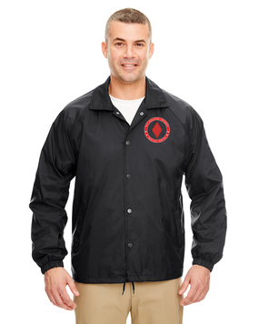 5th Infantry Division Embroidered Windbreaker -Proud