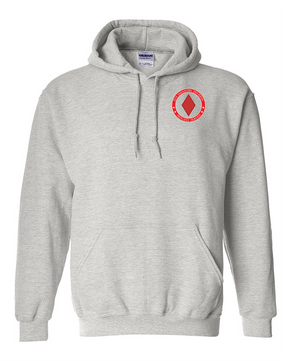 5th Infantry Division Embroidered Hooded Sweatshirt -Proud