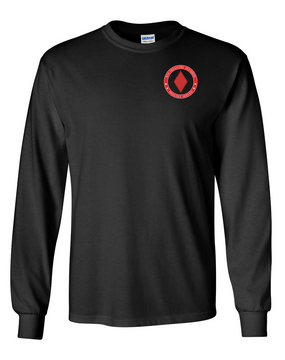 5th Infantry Division Long-Sleeve Cotton Shirt-Proud