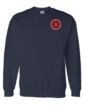 6th Infantry Division Embroidered Sweatshirt-Proud