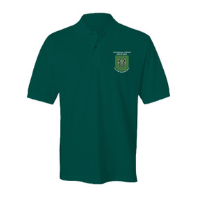 10th Special Forces Group Embroidered Cotton Polo Shirt