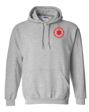 6th Infantry Division Embroidered Hooded Sweatshirt-Proud