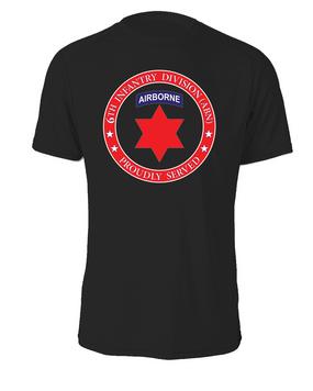 6th Infantry Division (Airborne) Cotton Shirt-Proud FF