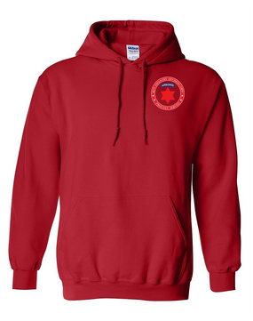 6th Infantry Division (Airborne) Embroidered Hooded Sweatshirt-Proud