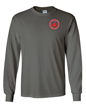 6th Infantry Division (Airborne) Long-Sleeve Cotton T-Shirt -Proud