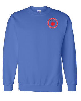 6th Infantry Division (Airborne) Embroidered Sweatshirt-Proud