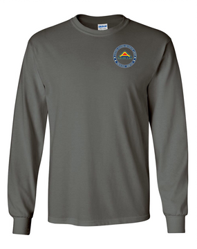 United States 7th Army Long-Sleeve Cotton T-Shirt  -Proud