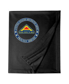 United States 7th Army  Embroidered Dryblend Stadium Blanket-Proud