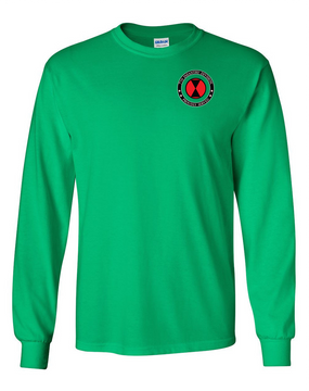 7th Infantry Division Long-Sleeve Cotton T-Shirt-Proud