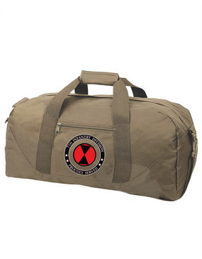 7th Infantry Division Embroidered Duffel Bag-Proud